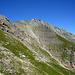 Der gute Wanderweg verläuft durch die steile Südflanke der Höch Gumme.