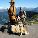 Kunst und Kitsch am Berg - 's Steinmandli am Gibel.