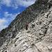 Abstieg über die Südflanke