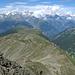 Blick über das Rhonetal in die Berneralpen
