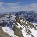 Blick vom Gipfelhang zum Pkt. 3096