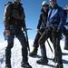 Jochen, ich und Edgar am Gipfel