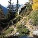 Weg von Punkt 2131 zur Alpe di Crosle.