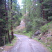 Über die Fahrstraße ging's abwärts nach Zermatt.