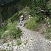 Weg zur Biwaldalp