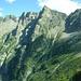 Blick zurück (von Vazzola): Sasso Bodengo, P. Campanile, P. Martel