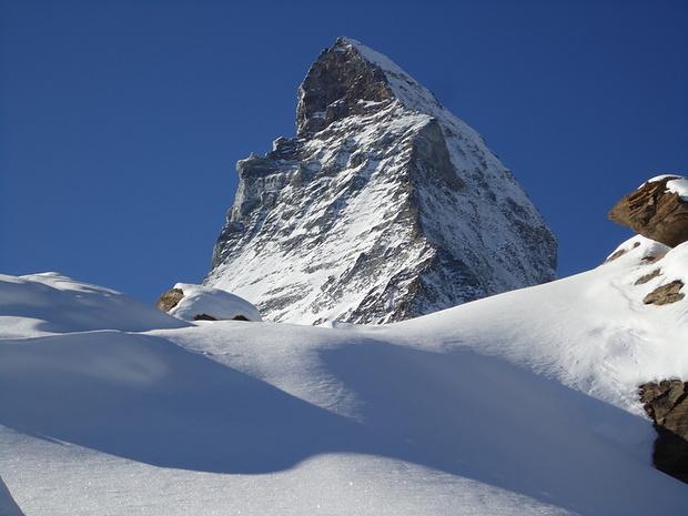 Eine Menge Schnee liegt auf ca. 3000 Meter . . .