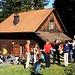 Foto vom 4.HIKR-Treffen in Cholihütte am 12./13.11.2011.<br /><br />Unsere Gruppe ist auf der Cholihütte (1093m) eingetroffen.