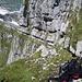 Schijen 2610, Abstieg über das Grasband