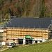 Fotovoltaik-Dach auf der Scheune und Stall, sieht doch gut aus?
