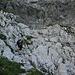 Steilstufe beim Abstieg im Egersgrinn