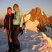 Gipfelglück auf dem Oberaarhorn