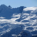 Skigebiet  von Saas Fee, schon recht  gut