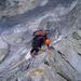 Luftigste Kletterei - das sind Grate im Bergell!