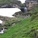 Kleiner Wasserfall am Maschgenkemm