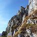 Felsformationen (nicht die Route)