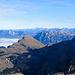 kontrastreicher Gipfelblick