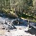 Steinmännchen bei Clemgia-Schlucht