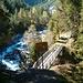 Erste Brücke Clemgia-Schlucht