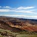 Blick auf die Montana Blanca, sieht von hier eher rotbraun aus...