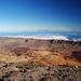 Blick nach Osten, man sieht bis nach Gran Canaria