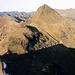 Blick zum Tschuggen, ein wirklich eindrucksvoller Gipfel an diesem Touristen Ort und trotzdem wenig begangen