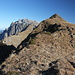 Unterwegs zwischen Lütispitz und Windenpass - Rückblick unweit des Lütispitz-Gipfels.