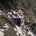 Heikler Abstieg vom Trubinasca-Pass bei Neuschee