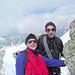 Io e PG pochi metri sotto la spalla (foto Roberto).