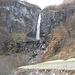la cascata di Foroglio