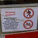 Bergweg: offiziell gesperrt
