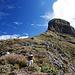 Aufstieg zum nördlichen Bergfuss