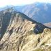 La cresta di collegamento tra Pizzo Morisciöi, Pizzo Croadino, Pizzo Verde e Poncione Piancascia