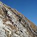 Schneefrei, warm und trocken – [U Delta] beim Zustieg zur Gipfelwand (Foto: [U Maveric])