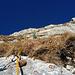 Gras-Fels-Gemisch und ein alpines Erlebnis in der Girenspitz Südwand