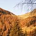 La sella dell'Alpe Albagno