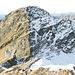 Cima d'Erbea Occidentale: netta la separazione tra versante N e quello S