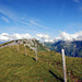 Blick über den Fisetengrat Richtung Chamerstock.