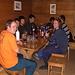 wir sind in der Hütte gut versorgt und genehmigen uns noch einen Schlummertrunk