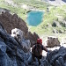 Schöner Tiefblick zum Steinsee