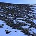 Auf den obersten Meter zum zirka 2860m hohen Sattel unterhalb des Chlein Ducan Ostgrates erwartete mich ein äusserst mühsamer, loser Geröllhang.