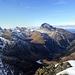 Blick vom Gipfel des Piz da las Blais Richtung Piz Ela
