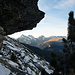 Abstieg zur Alpe Sut Fuina mit Blick gegen den Anarosa