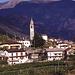 Blick auf Intragna mit dem höchsten Kirchturm im Tessin