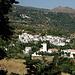 Nach der Tour - Blick auf den Alpujarras-Ort Mecina Fondales.