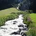 der Lussbach plätschert zu Tal: schee war's damals in den Ötztalern