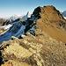 Der schöne Grat vom Sattel zum Gipfel des Schilthorns.