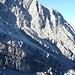 das eindrucksvolle Plattenband der Jungfrau, über das wir angestiegen sind liegt jetzt im Schatten