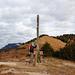 Arg lädiertes Gipfelkreuz