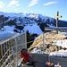Blick ins Skigebiet Pardiel-Pizol